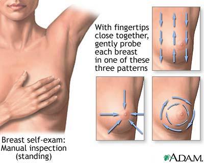 Breast self-examination - Wikipedia