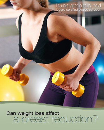 Can Weight Loss Affect Your Breast Reduction